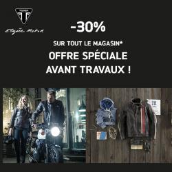 -30% SUR TOUT LE MAGASIN...AVANT TRAVAUX !