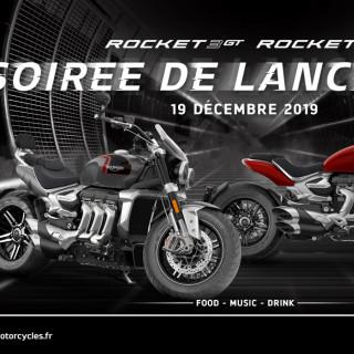Invitation soirée de lancement Rocket 3